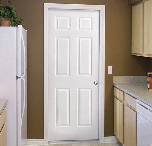 Hollow core interior doors come in a wide variety of material types and designs and are generally more affordable many all panel doors are upgrade able