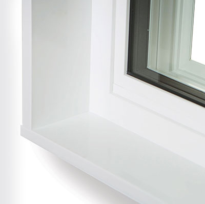 Slider Window with Jamb Extention